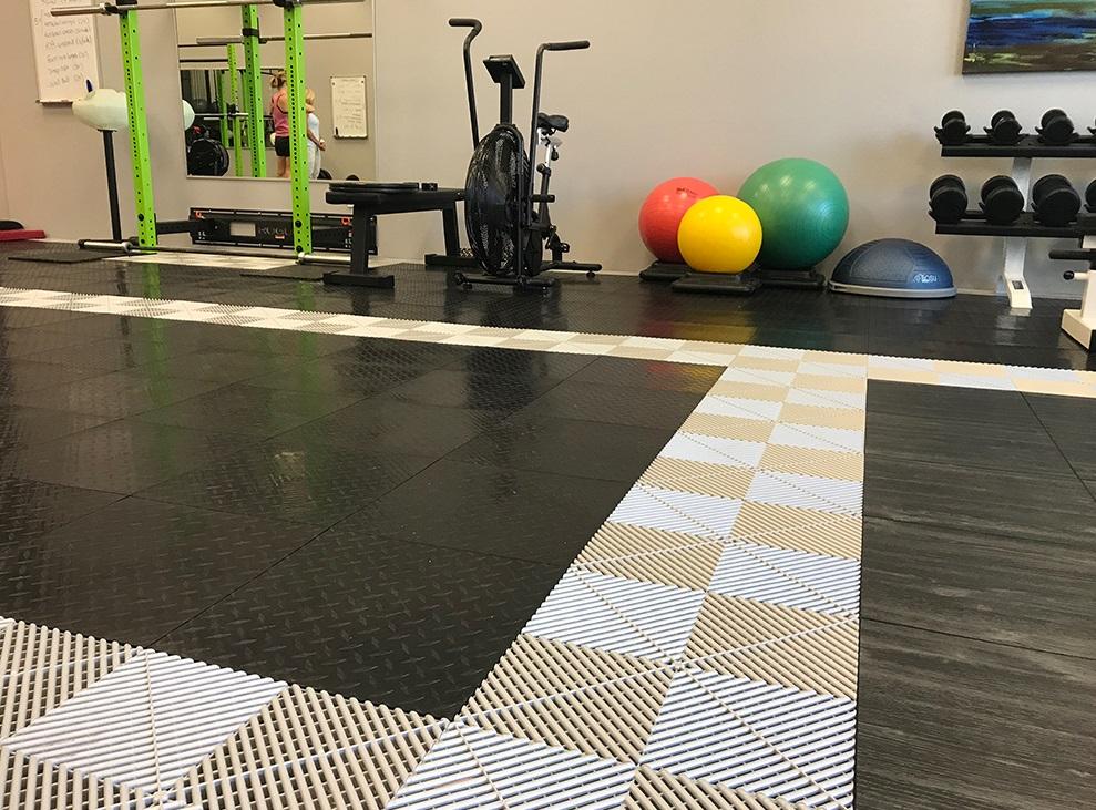 Swisstrax Flooring Gym Picture